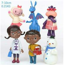 Disney Junior Doc Mcstuffins Figures Mcstuffins Figurines 6pcs set