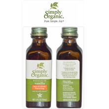 Simply Organic, Vanilla Extract, Non-Alcoholic Flavoring (59ml, 118ml)