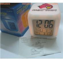 New Sale: ANGRY BIRDS  SPECIAL EDITION ' PREMIUM iMOOD CLOCK'
