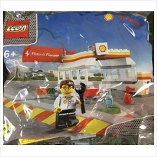 SHELL LEGO SHELL STATION