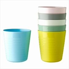 IKEA Kalas New Kids Plastic Mug Assorted Colours Mixed Colours