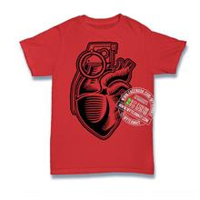 Grenade Heart T-shirt Custom Tee