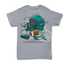 Football Player T-shirt Custom Tee