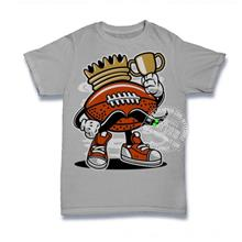 Football King T-shirt Custom Tee