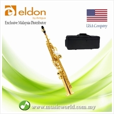 Antigua Eldon ESS-25 Bb Soprano Saxophone With Carrying Case