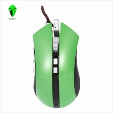 G60 PROFESSIONAL USB WIRED QUICK MOVING LED LIGHT GAMING MOUSE GAME PERIPHERAL