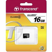 TRANSCEND MC TF HC4 16GB WITHOUT ADAPTER (TS16GUSDC4)