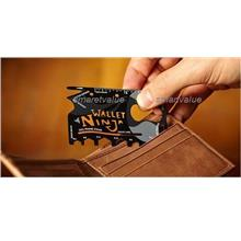 New Addition: WALLET NINJA 18-IN-1 MULTI TOOL CARD. Grab it now