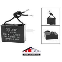 450VAC 5uF Metallized Capacitor for Motor Start-up Ceiling Fan