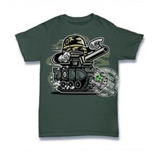 War Tank T-shirt Custom Tee
