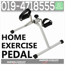 Home Mini Exercise Bike Cycle Pedal Resistance Fitness Bicycle Hand Le