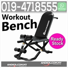 Adjustable Multipurpose Bench Chair-Kerusi Gym Fitness Sit Up Weight