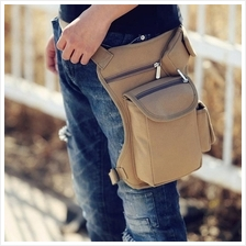 Outdoor Canvas Waist Bag Sport Lightweight Leg Belt Pack Bag