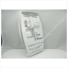 Apple iPhone 4 4s 3gs iPad 2/3 iPod Touch 3 Pin Travel Charger