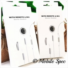 APPLE IPHONE IPOD IPAD 4 5 6 6S PLUS EARPHONE HANDSFREE WITH MIC