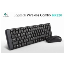 LOGITECH MK220 Wireless Combo Keyboard & Mouse -Must Buy!