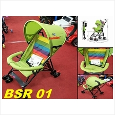 Super Lightweight Foldable Baby Stroller with 8 Wheels
