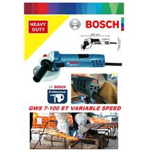 Bosch GWS 7-100 ET 4' Variable Speed Angle Grinder