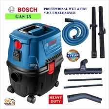 BOSCH GAS 15 WET AND DRY VACUUM CLEANER