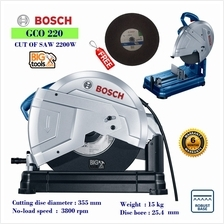 BOSCH GCO 220 14'' PROFESSIONAL METAL CUT-OFF SAW
