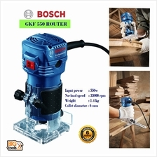 Bosch GKF 550 Palm Router And Trimmer 1/4 6MM 550W