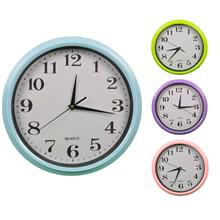 Colourful 30cm Plastic Wall Clock 827