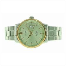 Alba Men Stainless Steel Date Watch VJ42-X183SRGS