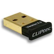 FREE SHIPPING CLIPTEC ADAPTER BLUETOOTH V3.0 BLACK RZB828
