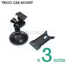 3x TRIGO CAR MOUNT HOLDER FOR SMART PHONES, GO PRO, TOOLS, LIGHTS, ETC