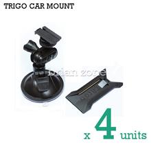 4x TRIGO CAR MOUNT HOLDER FOR SMART PHONES, GO PRO, TOOLS, LIGHTS, ETC