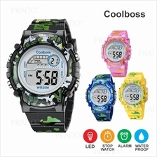 Sport Student Children Watch Kids Watches Boys Clock Child LED