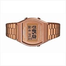 Casio Men Digital Vintage Retro Rose Gold Watch B640WC-5AVDF