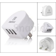 Remax Fast Charging 3 Port 3.1A/2 Port 2.1A USB Charger/Adapter