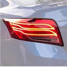 TOYOTA VIOS 2013-18 E-Class Style Red Clear Lens LED Light Bar Tail