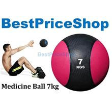 7kg Rubber Gravity Fitness Exercise Medicine Ball Gym Muscle Balls