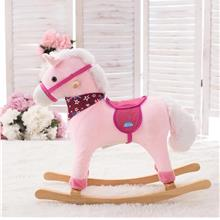 Rocking Musical Horse Pink (1-5 Years)