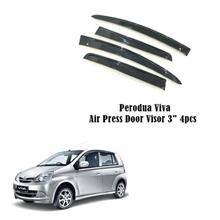 Perodua Viva Air Press Door Visor 3