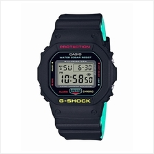 Casio G-Shock Digital Color Molded Band Watch DW-5600CMB-1DR