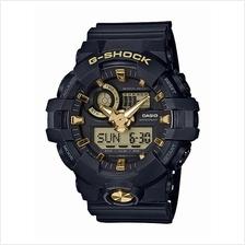 Casio G-Shock Analog Digital Gold Accents Sport Watch GA-710B-1A9DR