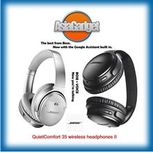 Bose QuietComfort 35 ll wireless headphones