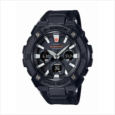 Casio G-Shock G-Steel Tough Leather Cloth Band Watch GST-S130BC-1ADR
