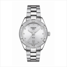TISSOT T101.910.11.036.00 PR 100 SPORT CHIC silver index diamonds