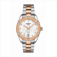 TISSOT T101.910.22.116.00 PR 100 SPORT CHIC white MOP index diamonds