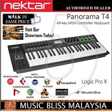 Nektar Panorama T4 49-key Keyboard(Synth Action Keyboard w/Aftertouch)