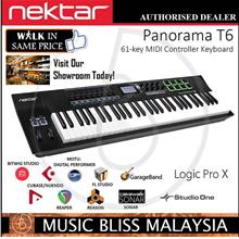 Nektar Panorama T6 61-key Keyboard(Synth Action Keyboard w/Aftertouch)