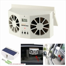 Solar Car Cooler Rechargeable Window Air Cooler MX-8802