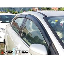 Venttec Ford Focus Sedan 2011-2016 Acrylic Door Visor