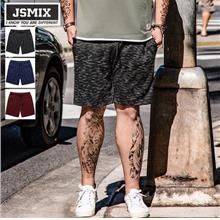 JSMIX Men's Plus Size (40'-48') Plain Casual Cotton Shorts 82JK0264