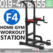 F4 Gym Fitness Workout Machine Bar Abs Pull Up Push Leg Chin Up