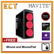 (2018 Latest) Mavite B4 Gaming Desktop PC (i5-8400,GTX1050Ti,8GB,W10P)